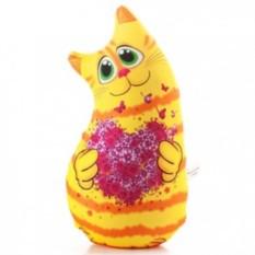 Подушка-игрушка антистресс Кот очаровашка