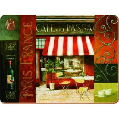 Доска стеклянная разделочная Кафе де Пассаж