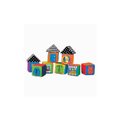 Мягкие кубики K'S KIDS в коробке