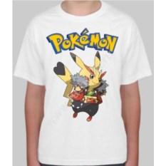Детская футболка Pokemon go Пикачу