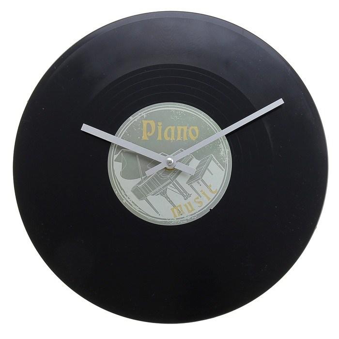Часы настенные Виниловая пластинка