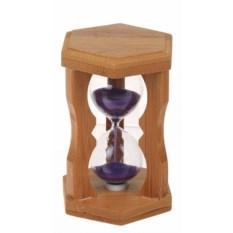 Фиолетовые песочные часы Фигурные