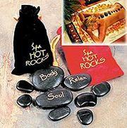 Горячие камни для массажа