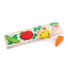 Рамка-вкладыш «Овощи»