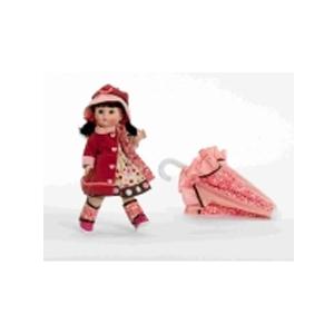 Кукла «Девочка с зонтиком»