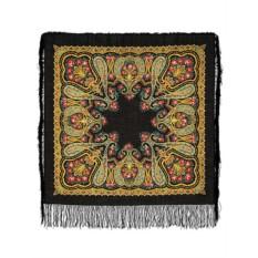 Павлопосадский шерстяной платок Рождественский