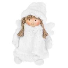 Декоративная кукла Ангелочек в шубке