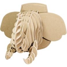 3D конструктор Голова африканского слона