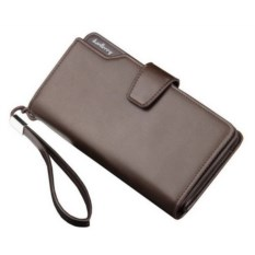 Коричневое мужское портмоне-клатч Baellerry Business