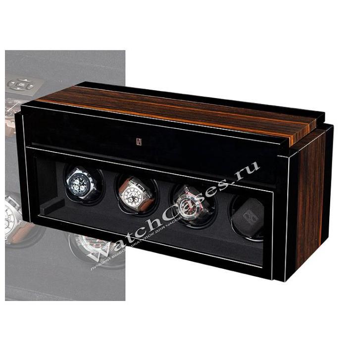 Шкатулка для часов Paul Design Gentlemen 4+6 Macasar