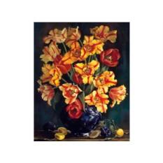 Картина по номерам «Тюльпаны» Ирины Романовой-Лоренц