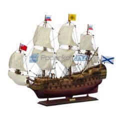 Модель корабля Линкор Полтава 1783 г. 94 см
