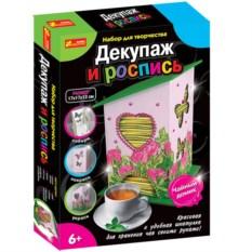 Декупаж и роспись «Чайный домик»