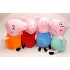 Комплект мягких игрушек Семья свинки Пеппы