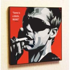 Картина в стиле поп-арт Брэд Питт