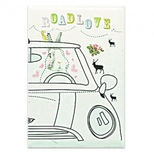 Обложка на автодокументы Road love