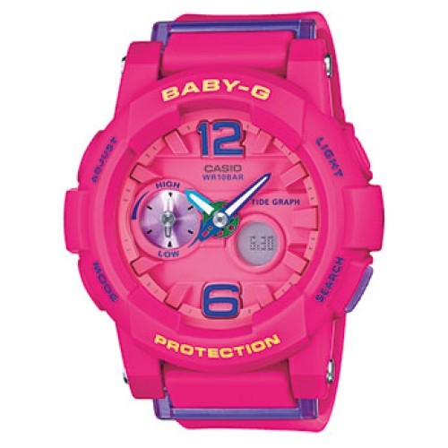 Женские наручные часы Casio Baby-G BGA-180-4B3