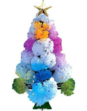 Набор для выращивания кристаллов Новогодняя Ёлочка