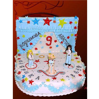 Детский торт Фабрика звезд