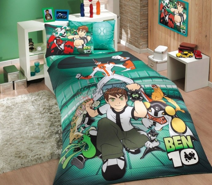 Детское постельное бельё Ben 10 Action Hobby