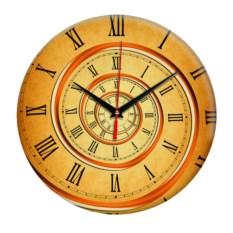 Настенные часы с эффектом оптической глубины