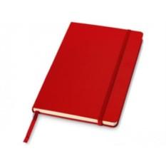 Записная книжка А5 на 80 страниц с застежкой
