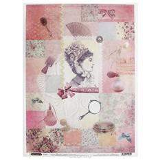 Рисовая бумага для декупажа Craft Premier Красотка
