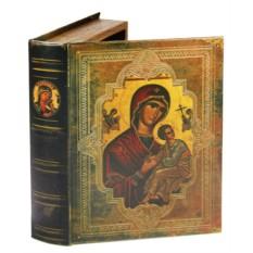 Набор из 2 шкатулок-фолиантов Богородица. Страстная