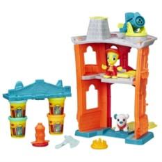 Игровой набор с ластилином Play-Doh Пожарная станция