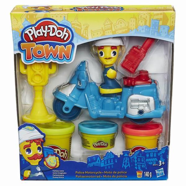 Набор Play-Doh Город Транспортные средства (Hasbro)