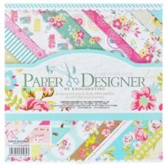 Набор бумаги для скрапбукинга Цветущее лето 40 листов