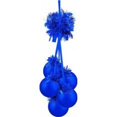 Новогоднее украшение Гроздь шаров