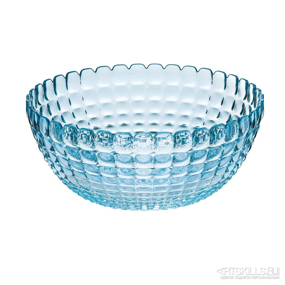 Голубая салатница Tiffany l