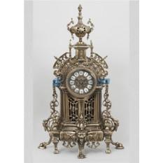 Часы из бронзы Сарагоса, цвет каштановый