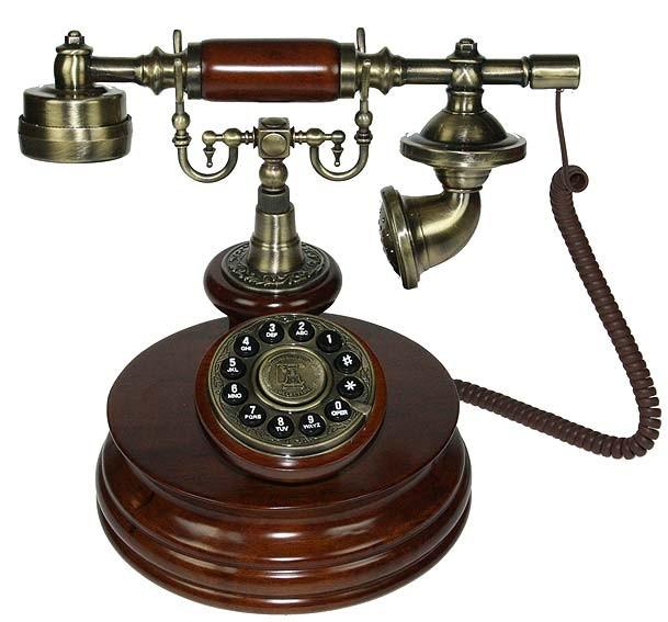 Ретро телефон в стиле ренессанс Идеал