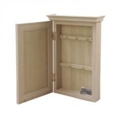 Настенная ключница-шкафчик настенная Во Дворе Дрова