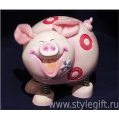 Копилка Свинка розовая