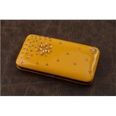 Маникюрный набор, коллекция Nail Care (желтый)