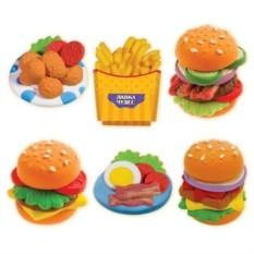 Набор для детского творчества Масса для лепки. Гамбургеры
