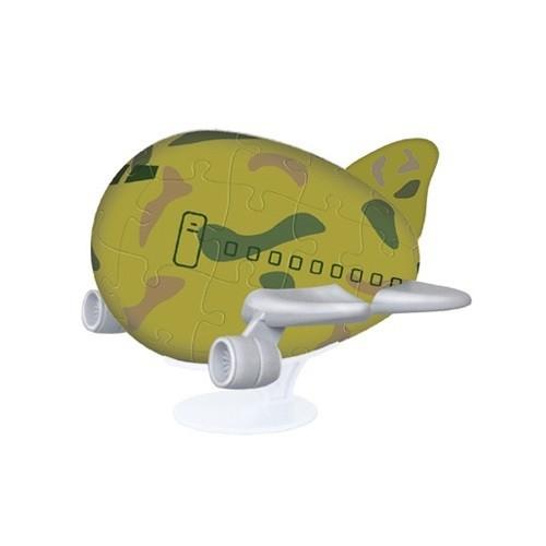 Головоломка в 3D-формате Полет в стиле хаки
