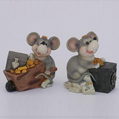 Копилка «Мышка на сундуке»