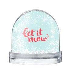 Водяной шар Let it snow