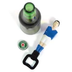 Синий открыватель для бутылок Football