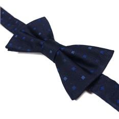 Темно-синяя жаккардовая бабочка Laura Biagiotti