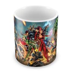 Кружка Герои Marvel