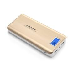 Золотистый внешний аккумулятор Pineng PN-999 20000mAh