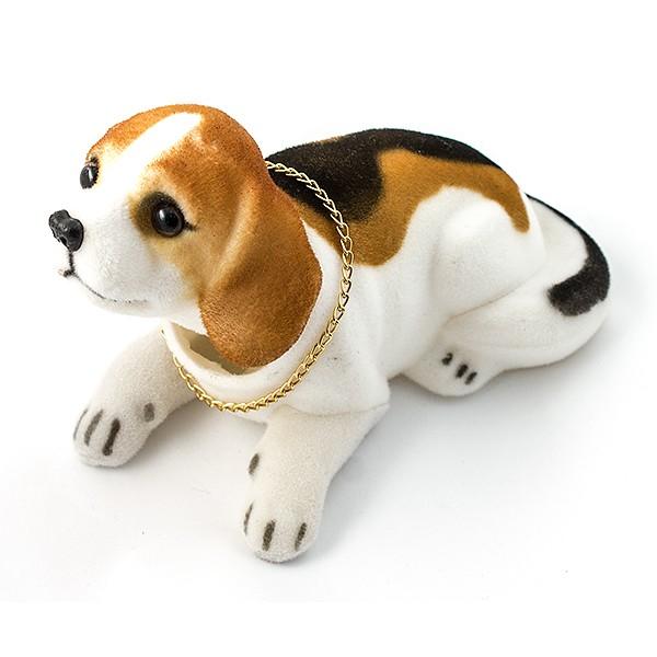 Фигурка Собака качающая головой. Бигль