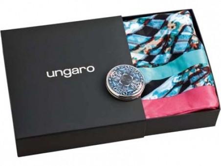 Набор Ungaro: складное зеркало и шелковый платок Simmetria