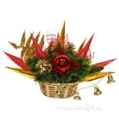 Букет из конфет Новогодний вальс