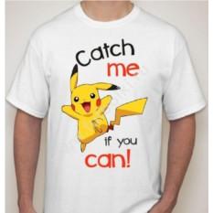 Мужская футболка с Пикачу catch me
